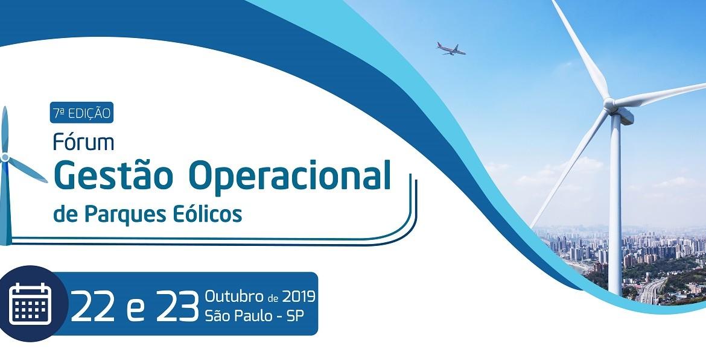 Eventos   7º Fórum Gestão Operacional de Parques Eólicos